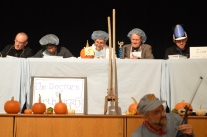 A scene from the Mary Lyon Foundation's 2013 Community Spelling Bee